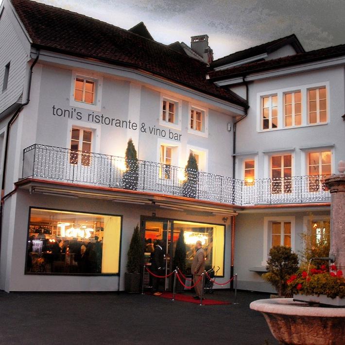Toni's Ristorante & Vino Bar, das kulinarische Wahrzeichen von Biel