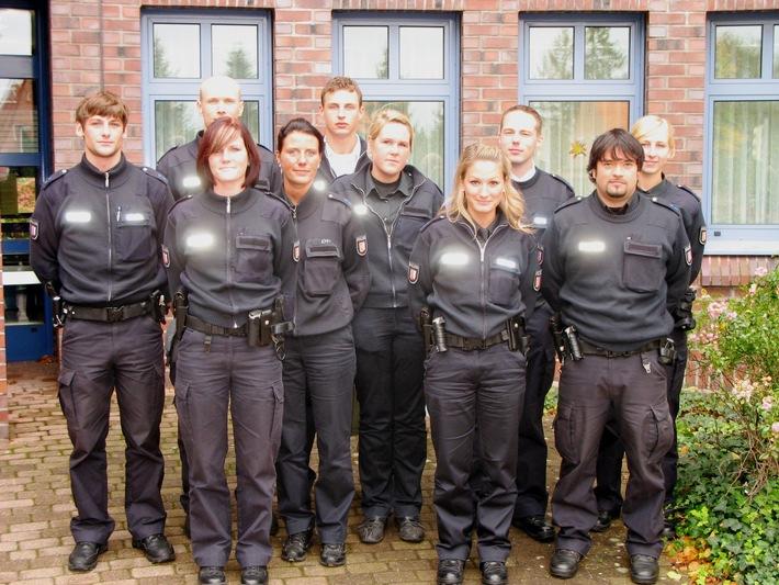 POL-SE: Bad Segeberg - Neue Polizeibeamtinnen und -beamte begrüßt
