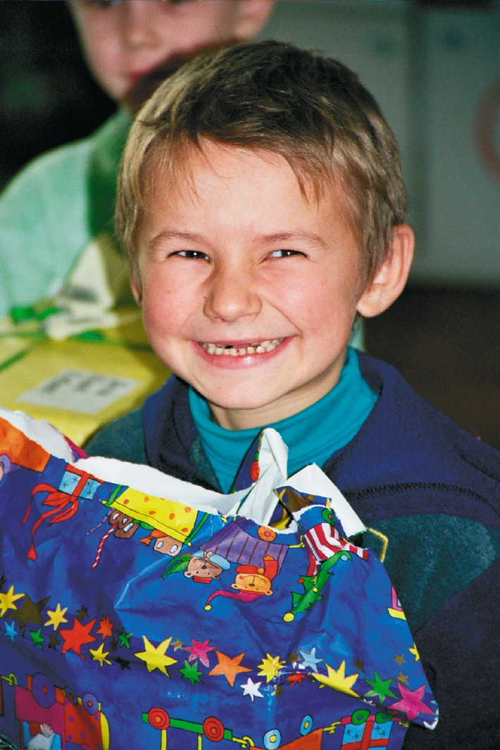 Aktion Weihnachtspäckli - Weihnachtsfreude: 94'000 Pakete für Osteuropa