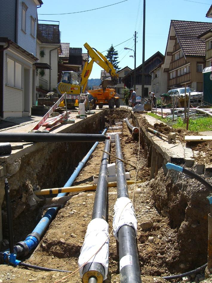 Energia legno Svizzera - Teleriscaldamento: pulito, sicuro, affidabile