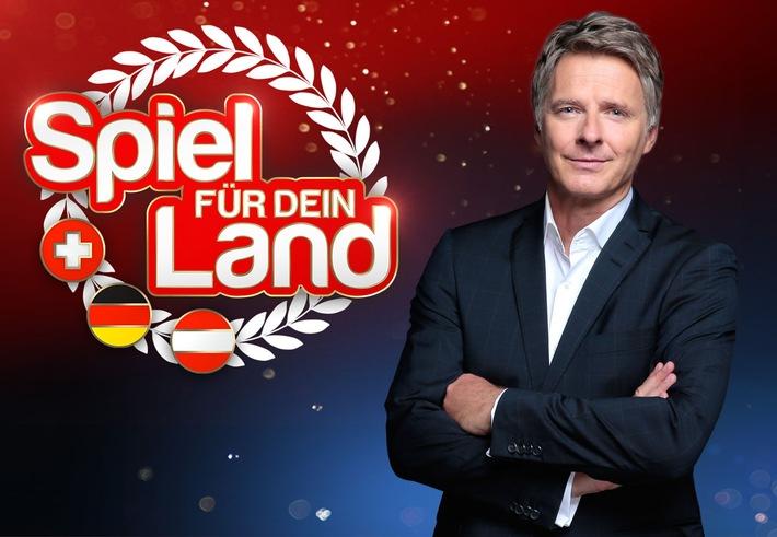 """Das Erste / """"Spiel für dein Land"""" - Das größte Quiz Europas / Jörg Pilawa präsentiert am 31. Oktober 2015 um 20:15 Uhr live die neue große Samstagabendshow im Ersten, in ORF 2 und auf SRF 1"""