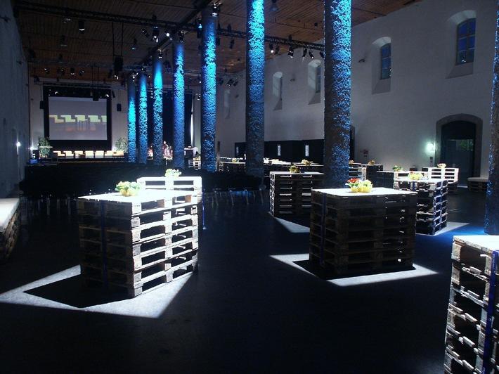 SALZRAUM.HALL als Eventlocation in Tirol etabliert - European Bankers Symposium legt im Juni Goldpreis fest
