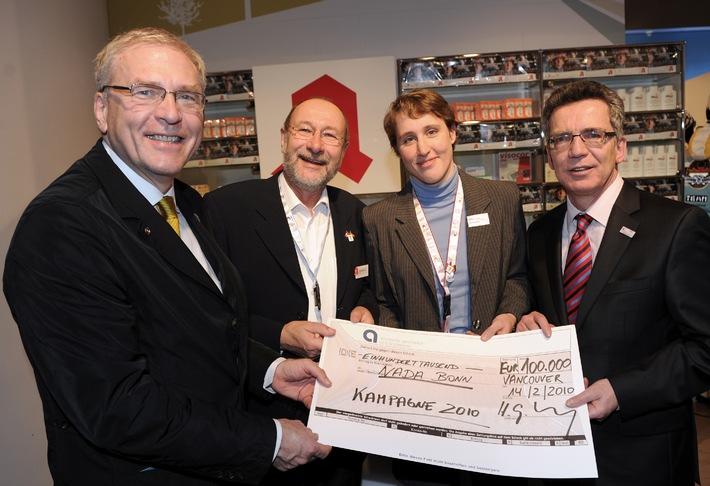 Apotheken unterstützen Nationale Anti-Doping Agentur (NADA) / Startschuss für Informationskampagne im Wert von 100.000 Euro