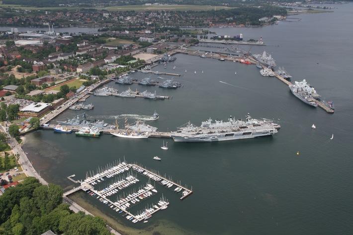Einmalig vielfältig Die Marine auf der Kieler Woche