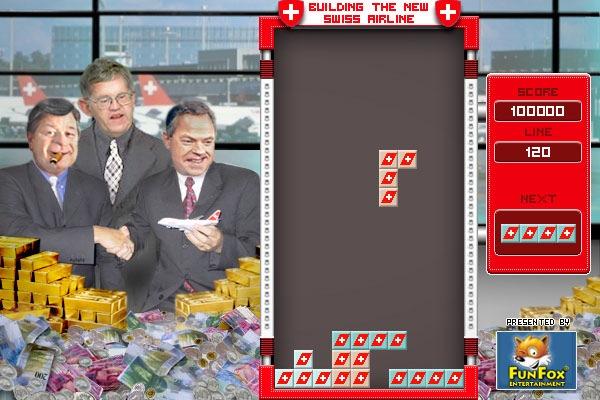 "Onlinespiel ""Swiss Airline Game"" lanciert"