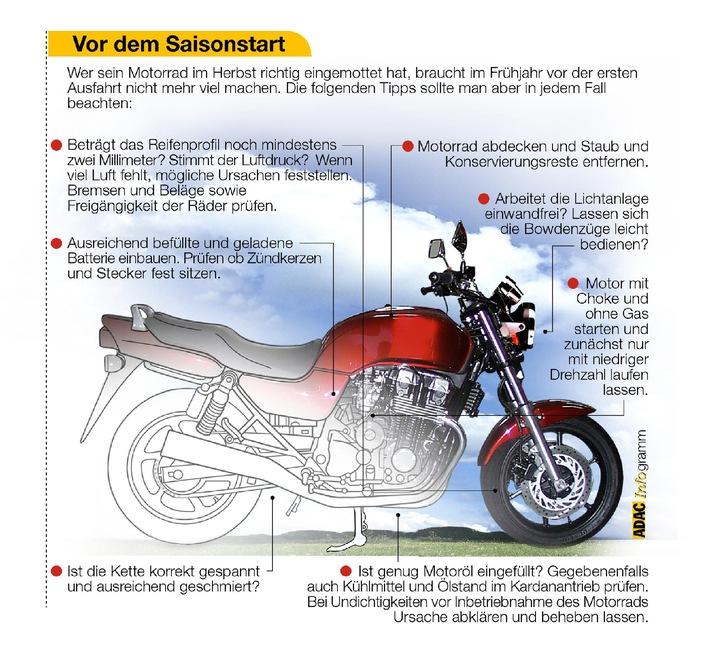 ADAC-Tipps für Motorradfahrer