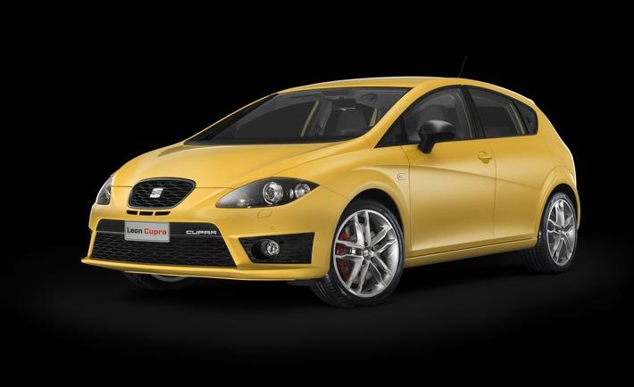 Weltpremiere auf der Barcelona Motor Show / Zwei neue SEAT Top-Sportler: Ibiza FR und Leon Cupra