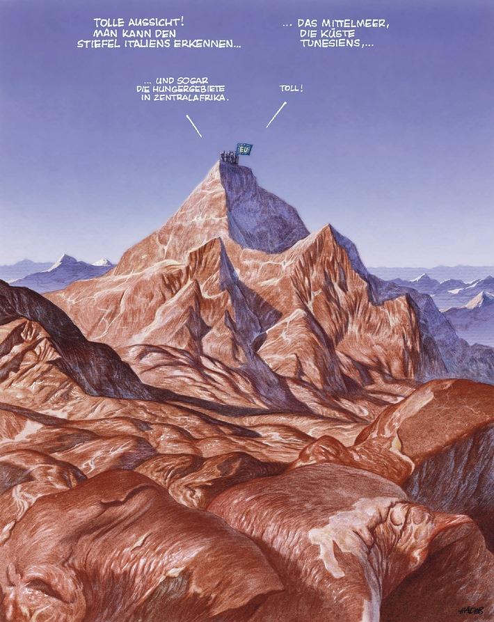 Viva Europa / 2. Deutscher Karikaturpreis 2001