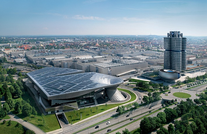 BMW Welt, with two million visitors a year, is the number one in the list of Munich's most visited sights / ITB Berlin, Hall 6.2 B