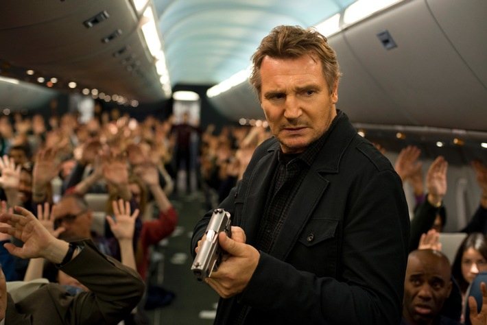 "Fasten Your Seatbelts! Liam Neeson mit ""Non-Stop""-Action am 7. Februar 2016 auf ProSieben"