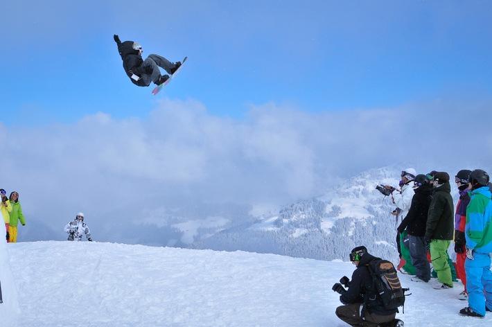 Die neuesten Bretter werden auf Alpbachs Pisten getestet - BILD