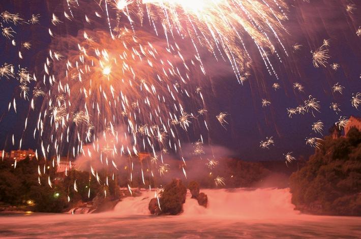 Rheinfall-Feuerwerk nicht mehr am Nationalfeiertag sondern am 22. August