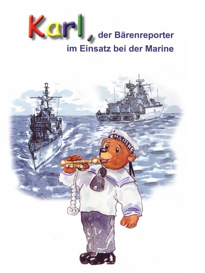 Deutsche Marine - Pressemeldung: Erstmals Kinderbuch über Marineeinsätze erschienen