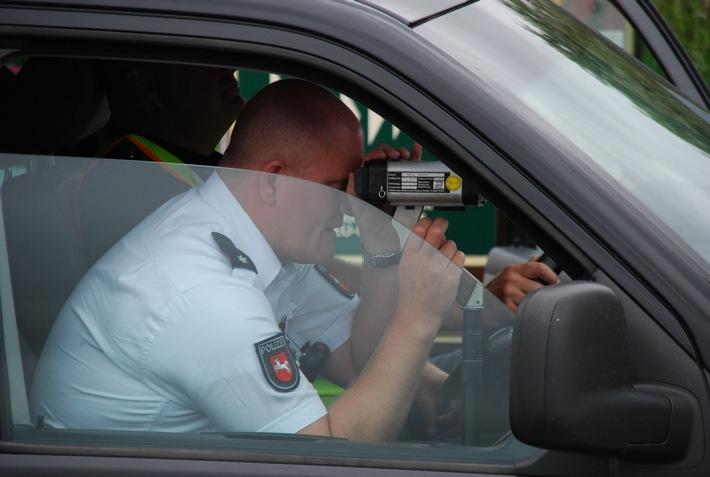 POL-WHV: 800 Fahrzeuge gemessen - Laut ist nicht gleich schnell! - Polizei kündigt weitere Messungen an