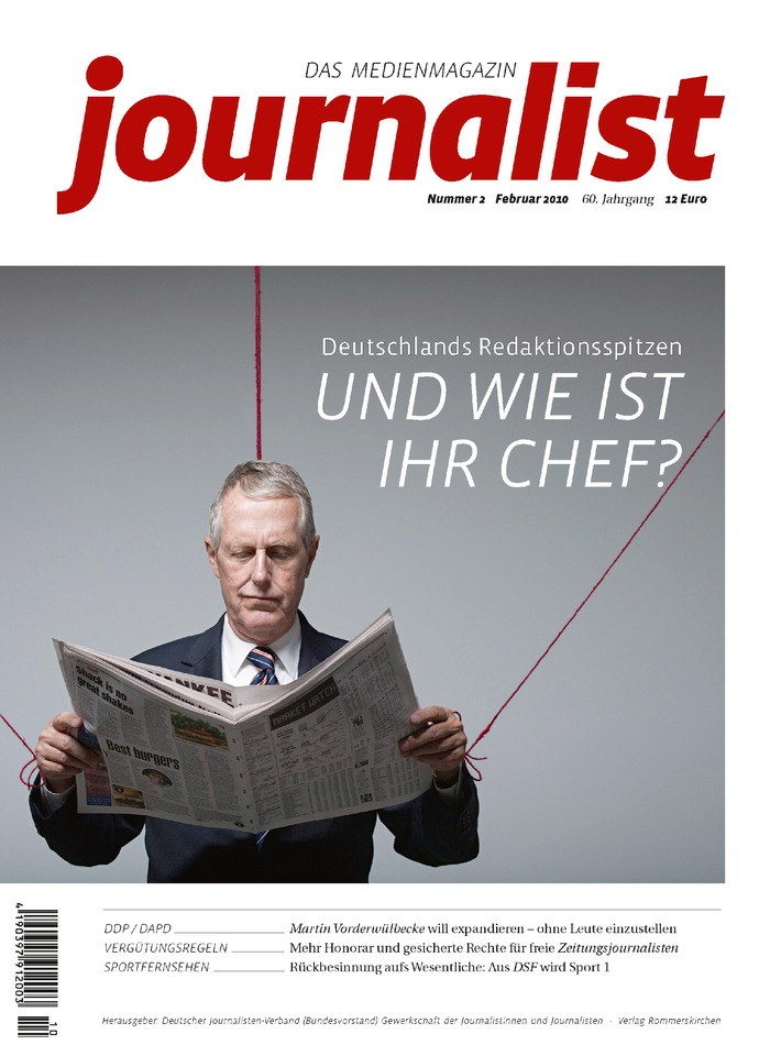 Medienmagazin journalist in neuer Optik