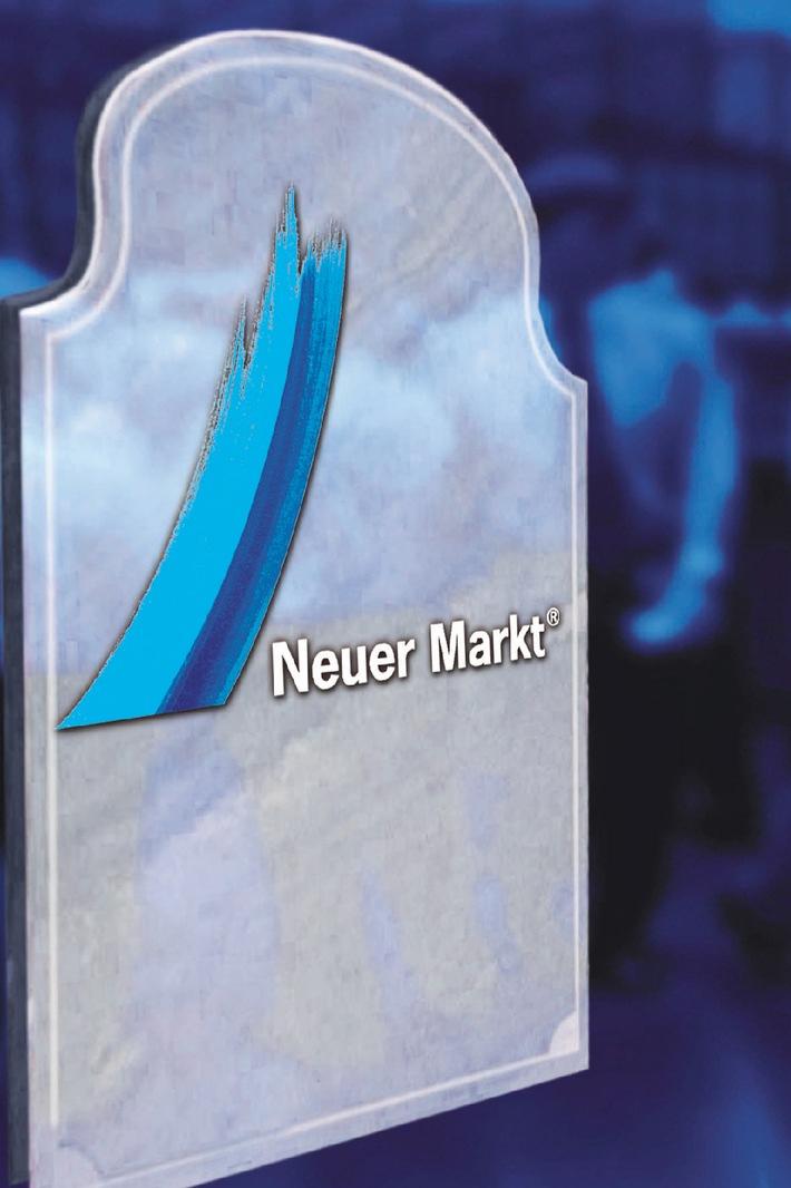 3sat-Programmhinweis / Der Neue Markt zu Beginn des 4. Quartals 2001