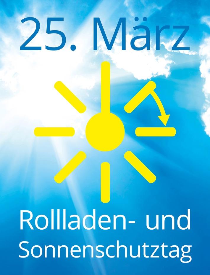 Am 25. März ist Rollladen- und Sonnenschutztag / Wie ein kurzer Urlaub
