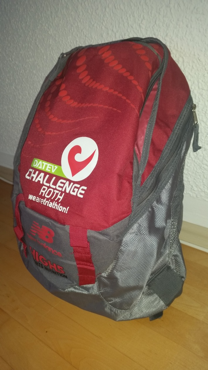 POL-DA: Rüsselsheim: Auch Rucksack bei Einbruch entwendet / Polizei veröffentlicht Lichtbild