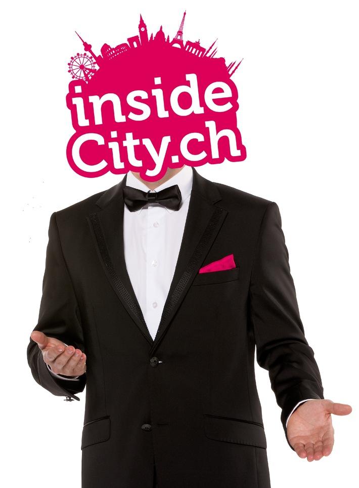 insideCity.ch: Städteerlebnisse der besonderen Art dank neuer Buchungstechnologie / Flug, Unterkunft mit Freizeitaktivitäten und Insidertipps - Alles auf einem Portal