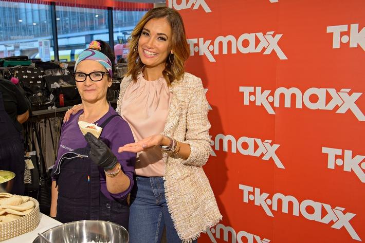 Feiern und dabei Gutes tun: TK Maxx und Jana Ina Zarrella sammeln gemeinsam Spenden zum Weltkindertag 2016