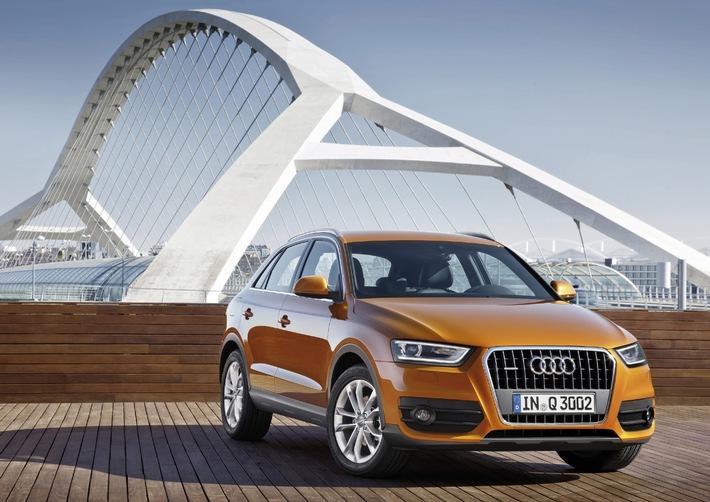 Audi setzt zweistelliges Absatzwachstum fort (BILD)