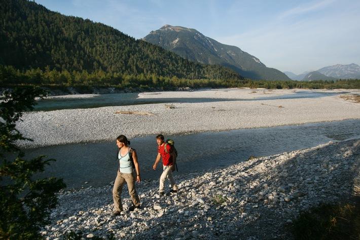 "Lechweg erster ""Leading Quality Trail - Best of Europe"""