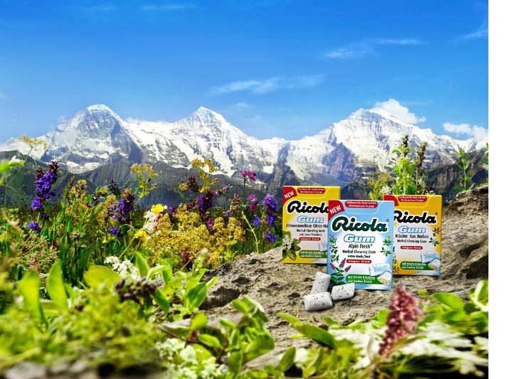 Ricola lance Alpin Fresh, le nouveau chewing-gum aux herbes