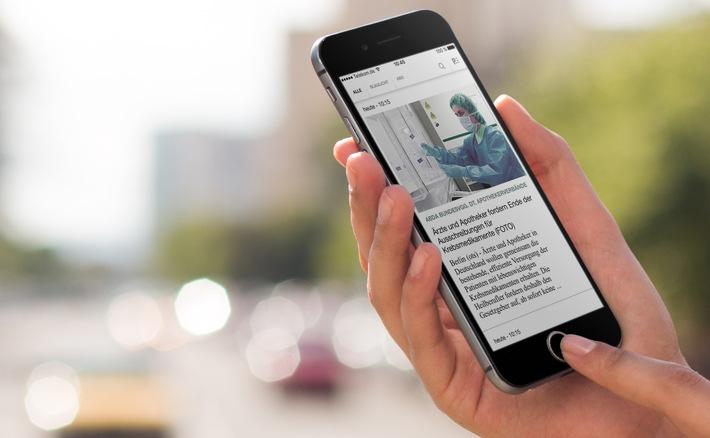 Neue Presseportal-App - Jetzt mit übergreifender Volltextsuche
