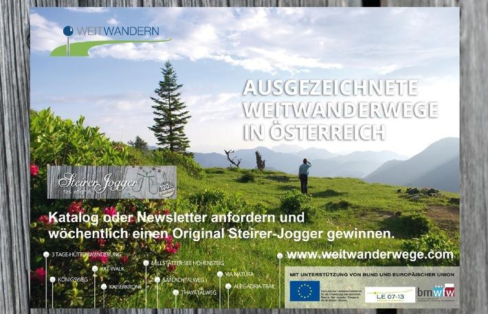 Ausgezeichnete Mehr-Tages-Touren, Weit- und Fernwanderwege in Österreich