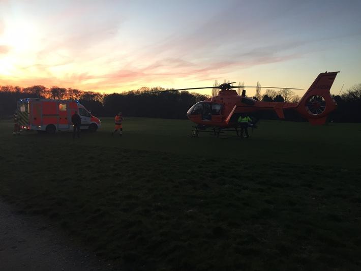 FW-MH: Reitunfall mit Zwei Verletzten in Mülheim-Selbeck