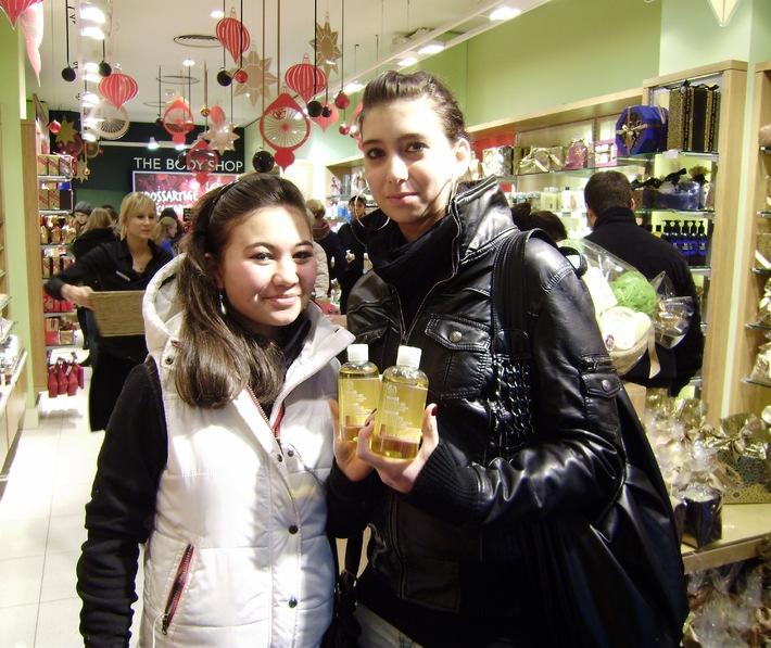 Surprises de Noël faites par The Body Shop