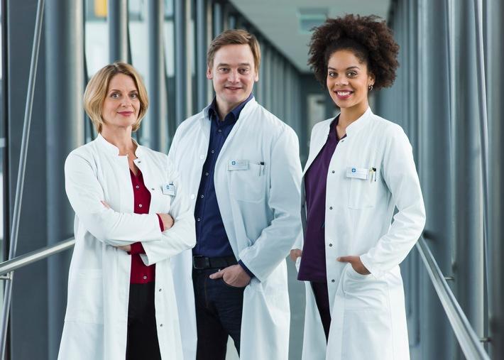 """Das Erste / """"In aller Freundschaft - Die jungen Ärzte"""": Die zweite Staffel ab 3. März 2016, donnerstags um 18:50 Uhr im Ersten"""
