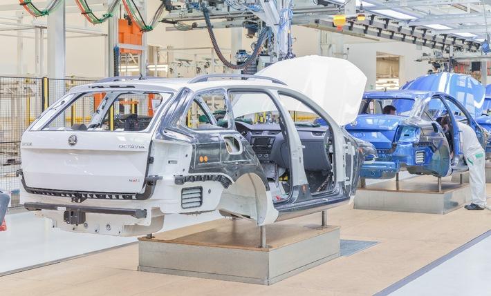 Werksferien: Produktion bereitet mit Hochdruck Anlauf des neuen SKODA Fabia vor