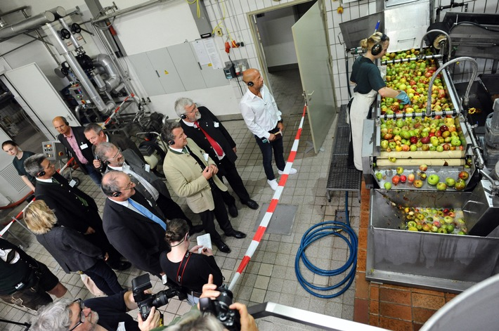 Besuch Deinen Saftladen - Deutschlands Fruchtsafthersteller öffneten ihre Türen