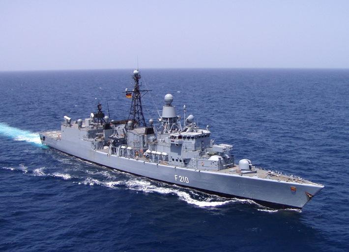 """Marine - Pressemeldung / Pressetermin: Fregatte """"Emden"""" läuft zum ATALANTA-Einsatz aus"""