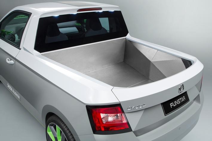 'AzubiCar' mit Spaßfaktor: Der Pickup SKODA FUNstar