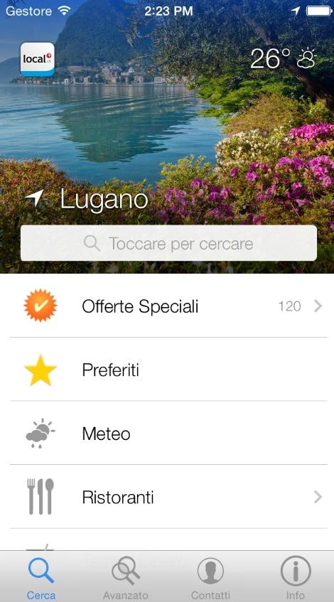 App local.ch: l'aggiornamento trasforma l'esperienza di ricerca