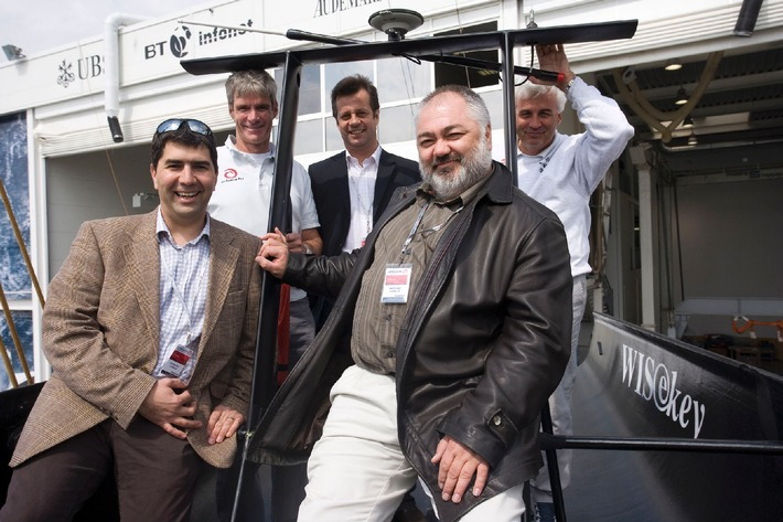 WISeKey joins Alinghi in its race to win the 32nd America's Cup