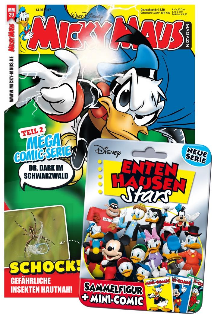 Donald Duck alias Phantomias auf Verbrecherjagd in Deutschland