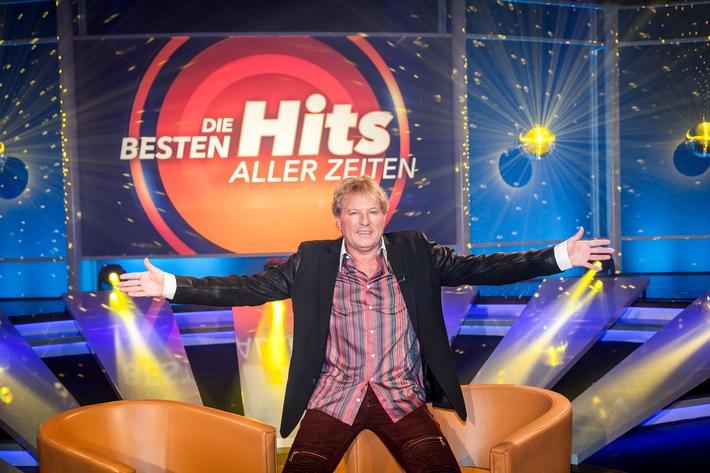 """Bernhard Brink startet neue MDR-Show """"Die besten Hits aller Zeiten"""""""