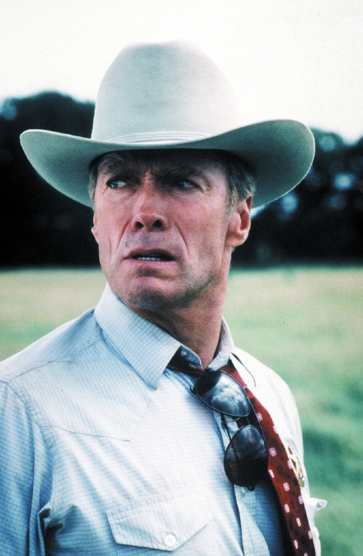 """""""Ich drehe auch Filme über Frauen, weil ich Mitleid mit Ihnen habe""""  Tele 5-Interview mit Clint Eastwood"""