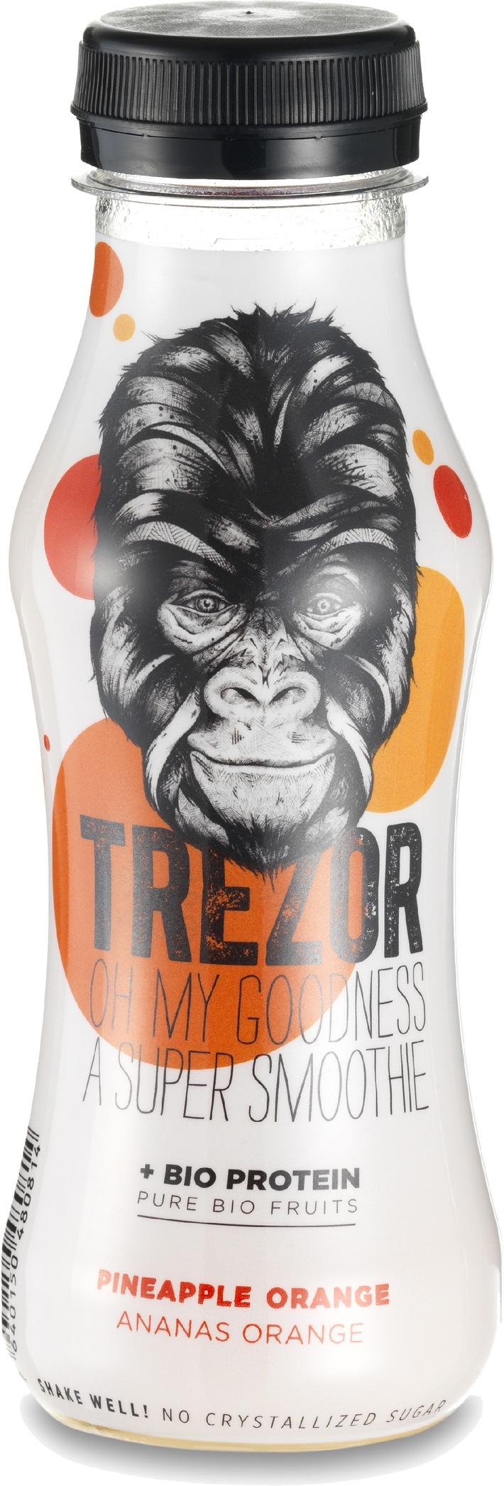 La petite et innovante entreprise Suisse Beodrinx lance sa dernière trouvaille, TREZOR une boisson bio protéinée