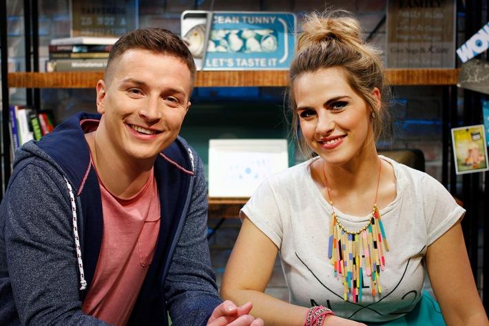 """Sarah Mangione und Aaron Troschke moderieren neue RTL II-Clip-Show """"WOW Of The Week"""""""