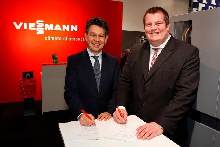 Kooperationsvereinbarung zwischen Viessmann und E.ON / Förderung der Brennstoffzellen-Heiztechnik