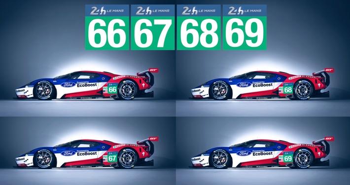 Offizielle Bestätigung: Ford GT startet 2016 in Le Mans - genau 50 Jahre nach dem historischen Dreifachsieg