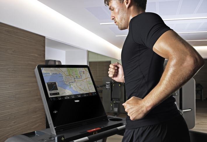 Zürich Marriott Hotel bietet modernste Design-Fitnessgeräte von Technogym