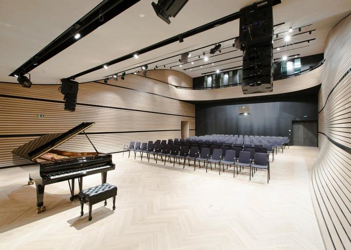 Kulturtourismus in den Alpen - Konzertsaal auf dem Arlberg eröffnet