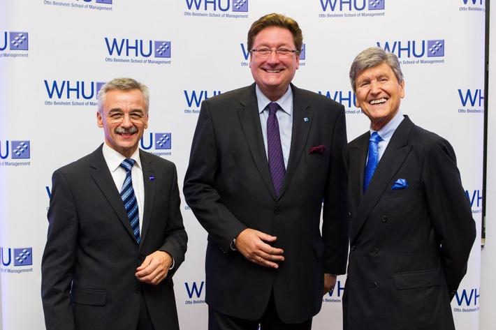 """Führende Business School WHU eröffnet zweiten Standort in Düsseldorf - Oberbürgermeister Elbers: """"Wir schätzen uns glücklich, Deutschlands Nummer eins bei uns in Düsseldorf zu haben"""""""