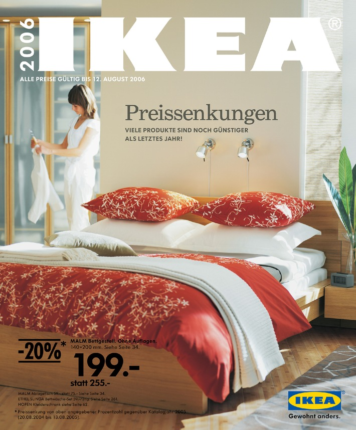 IKEA: Das Einrichtungshaus investiert CHF 30 Mio. in seine Preisreduktion - IKEA lässt die Preise purzeln