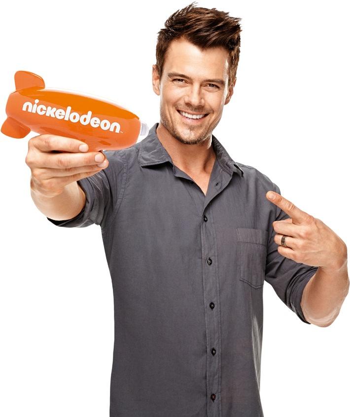 Achtung Slime - am Wochenende vergibt Josh Duhamel die Nickelodeon Kids' Choice Awards 2013